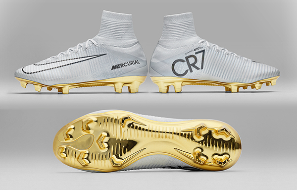 Cr7 White And Gold 2017