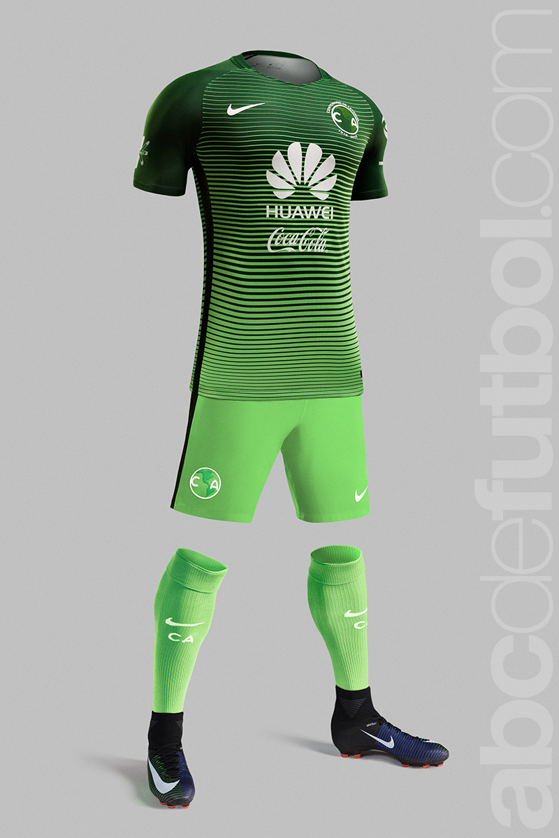El club am rica presenta su tercer uniforme para el c2017 for Cuarto uniforme del america